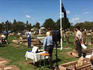 Capt Neech memorial service