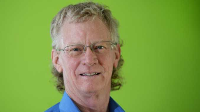 Paul Gleeson owns Ease of Stress and Strain Muscle Management. Photo Allan Reinikka / The Morning Bulletin