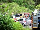 The scene of a drowning at a local swimming spot along Image Flat Road, Kiamba, 5 kilometers north west of Nambour.