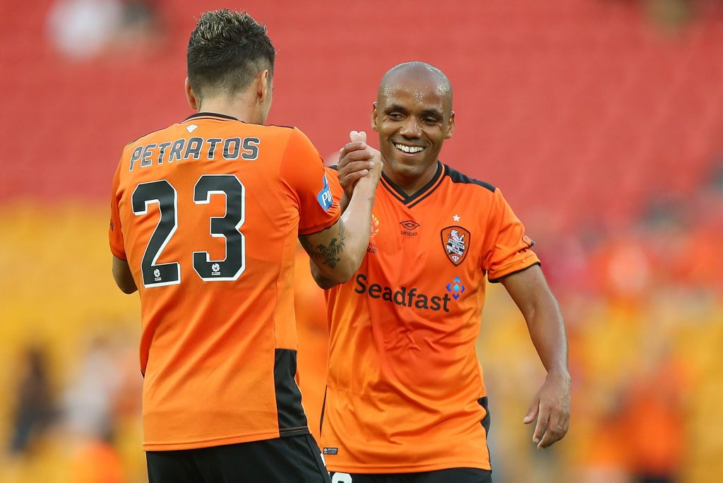 Henrique is looking to start for the Brisbane Roar.