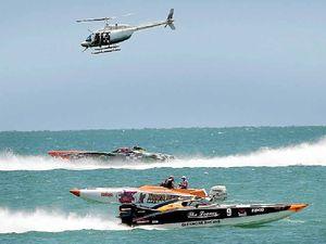 Superboats rev up tourism