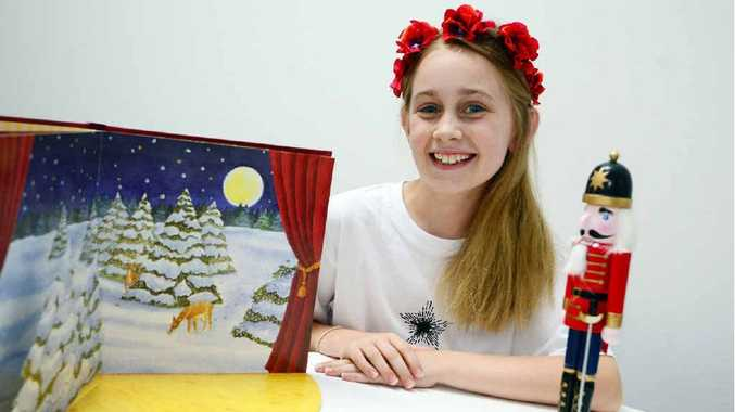 NUTCRACKER HOPES: Rockhampton's Emily Way has been chosen as a top 10 finalist out of 500 entries in this year's Queensland-wide Suncorp Wish Upon a Ballet Star competition.