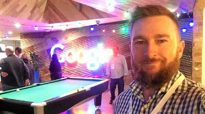DIGITAL AGE: Brendan McDonald gets a rare glimpse into the workplace of Australia's Google employees.