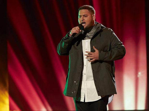 The X Factor finalist Big T, real name Tangaroa Te Tai.