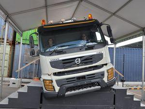 Volvo roll over simulator