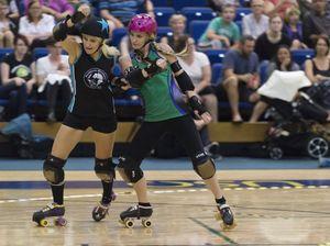 Slamiversary roller derby