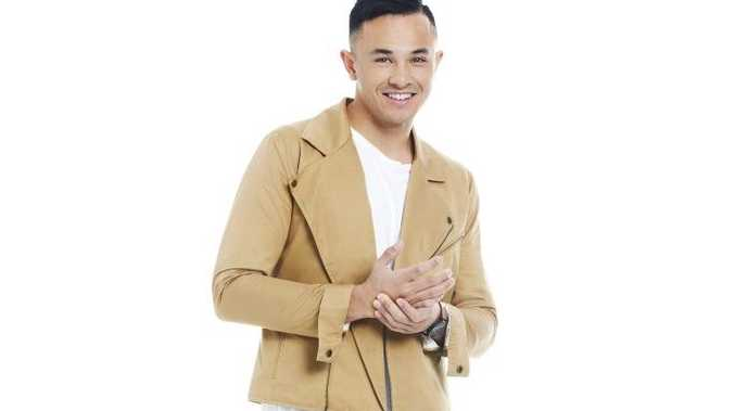 The X Factor Top 4 finalist Cyrus Villanueva.