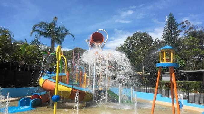 WATER WONDERLAND: The new Emerald Beach Holiday Park is set to make a splash.