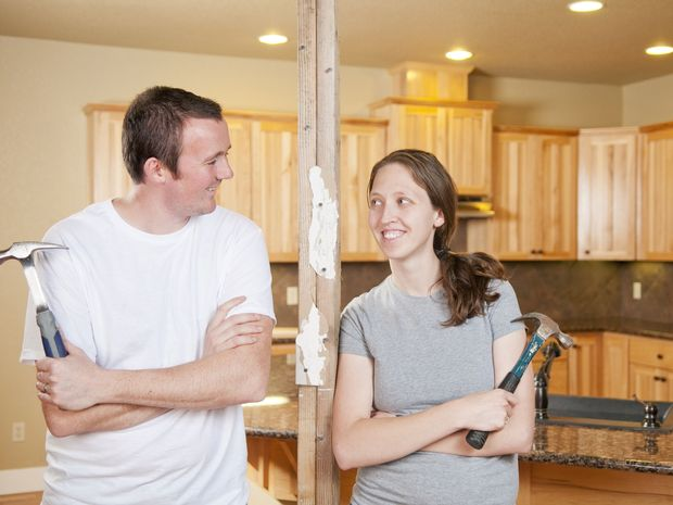 UNDER THE HAMMER: Do-It-Yourselfers are often surprised by how hard kitchen renovation is.