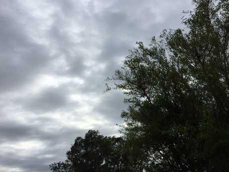 Overcast skies in Gladstone.