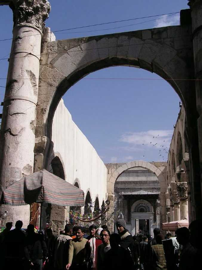 Margaret Strelow photo of the Damascus Arch in 2006. Photo Contributed
