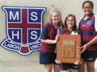 Mackay State High School 'titration' winners.