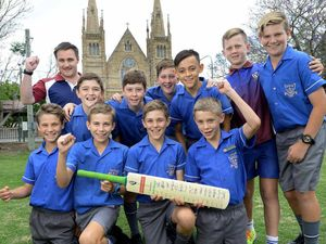 Committed cricketers serve school with pride