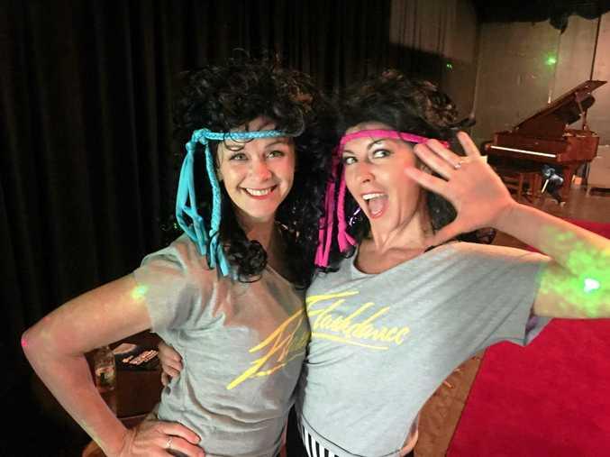 STARS OF DANCE: Dancing with the Coffs Coast Stars winners Jacqui Jarratt and dance teacher Kym Mackinnon.