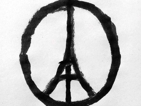 Peace for Paris logo.