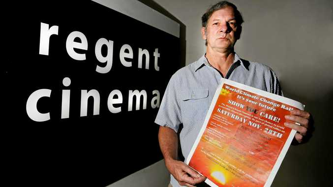 TIME FOR ACITON: Greg Reid has organised a screening of Show You Care at the Regent Cinema in Murwillumbah ahead of a street rally in Knox Park.