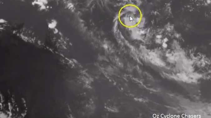 Oz Cyclone Chasers are watching a tropical low off the Queensland coast.