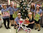 GIVING: The Kmart Wishing Tree Appeal launch will be on this Thursday at Pialba's Stockland.  Kmart staff back from left: Candice Woodman, Nadine Quattromani, Fiona Curd, Ebonie Andrew and Kylie Jasch. Front from left, Rhonda Thatcher and Beck Kennedy.