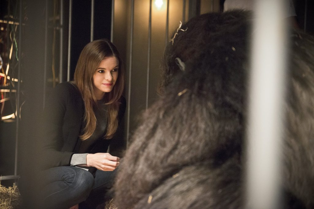 Danielle Panabaker as Caitlin Snow in The Flash (Season 2, Episode 7)