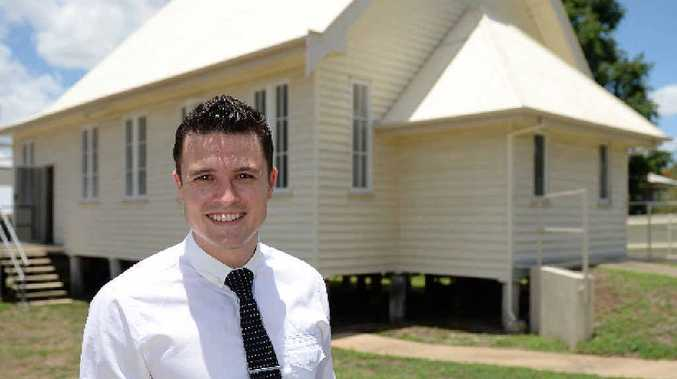TRANSFORMED TREASURE: Ray White's Trent Neven is looking forward to seeing what the Upper Dawson Rd property will go for under the hammer next month.