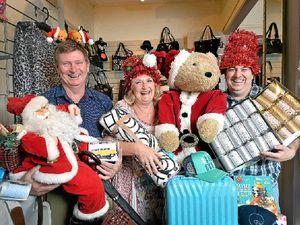 Santa is coming to Bulcock St for Christmas
