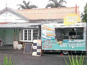 Van pops up in Caloundra laneway food project