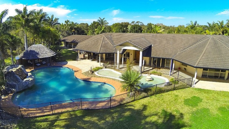 This property in Helensvale, Queensland, was bought for $2.5 million by a Chinese national. Photo: Supplied