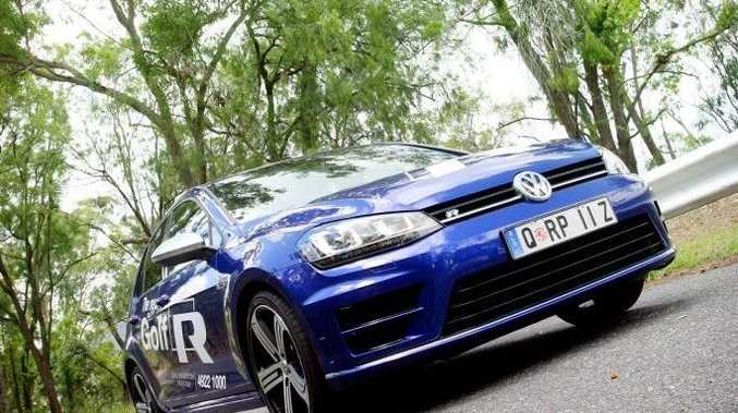 Introducing the all new Volkswagen Golf R, exclusive to Rockhampton Prestige. Photo Tamara MacKenzie / The Morning Bulletin