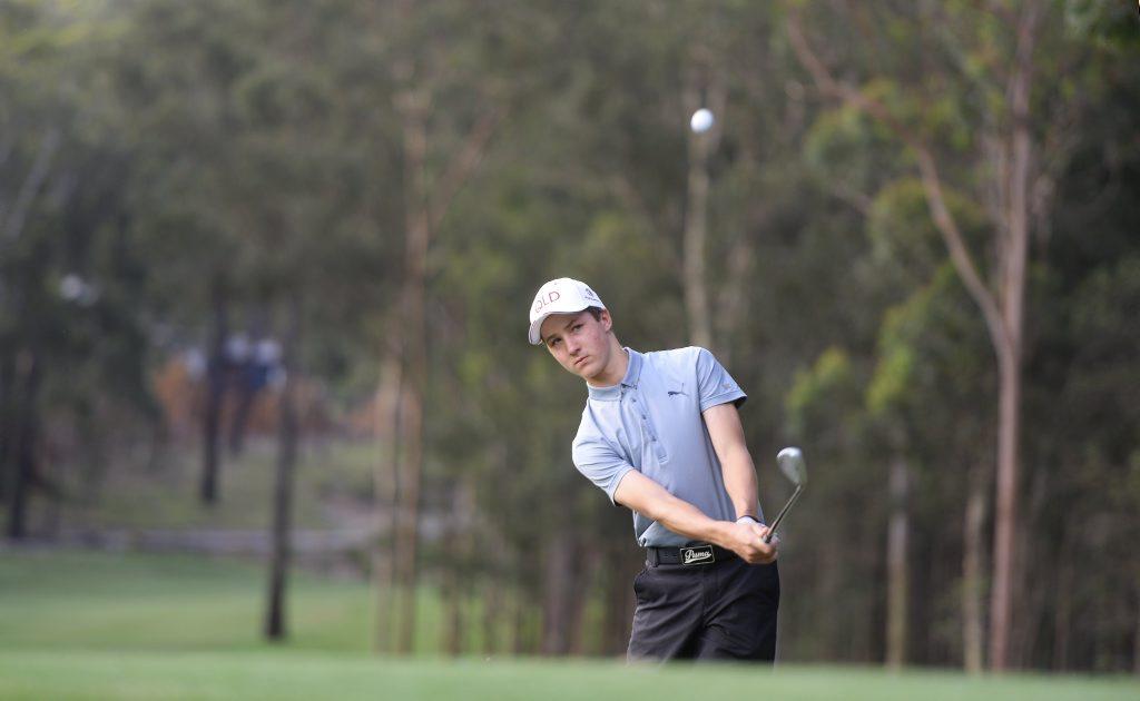 Brookwater golfer Louis Dobbelaar