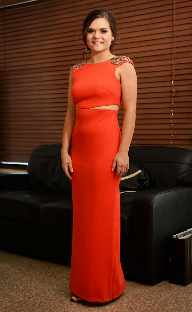 Georgia Smith has her formal tonight. Photo Allan Reinikka / The Morning Bulletin