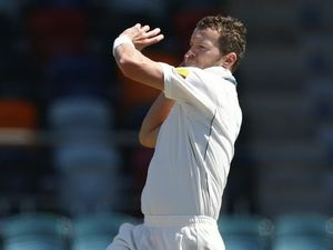 Siddle's all set to bore in against Williamson