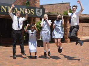 Toowoomba graduates celebrate end of era