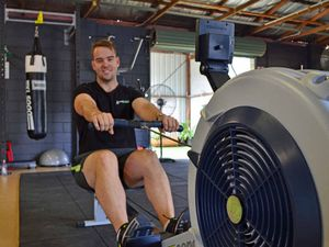 Team row-a-thon challenge for charity