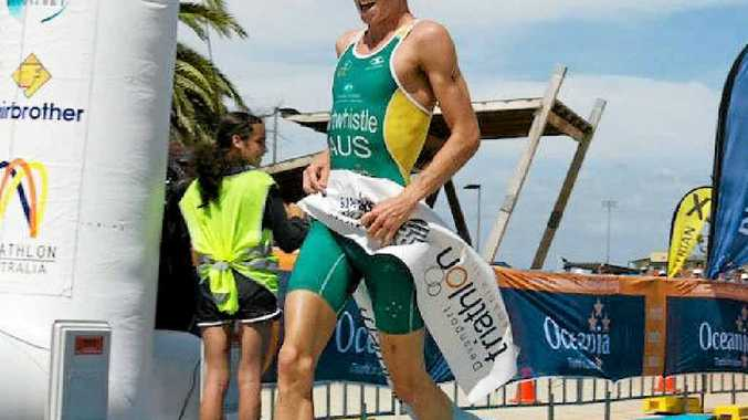 EYES ON RIO: Under-23 world triathlon champion Jake Birtwhistle will headline the Hamilton Island field on Saturday.