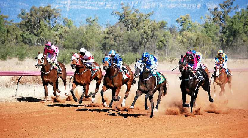 GIDDY UP: Country racing will get underway at Bluff over the weekend with up to $60,000 prize money up for grabs.