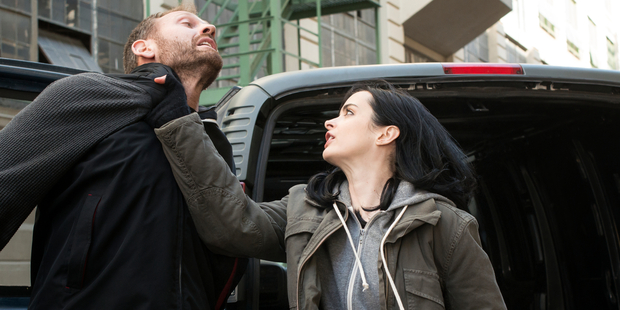 A scene from Marvel's Jessica Jones.