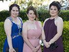 ( From left ) Jemma McOnie, Breanna Larkin and Chelsea Griffett.
