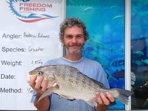Light winds, sunshine and lots of fish: Amanda Drury reports