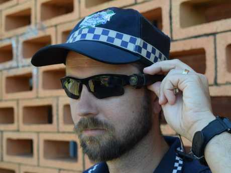 Nambour Road Policing Unit senior officer Sergeant Nathan Richards is among a handful of Sunshine Coast officers who have been issued a police-issue body-worn camera.
