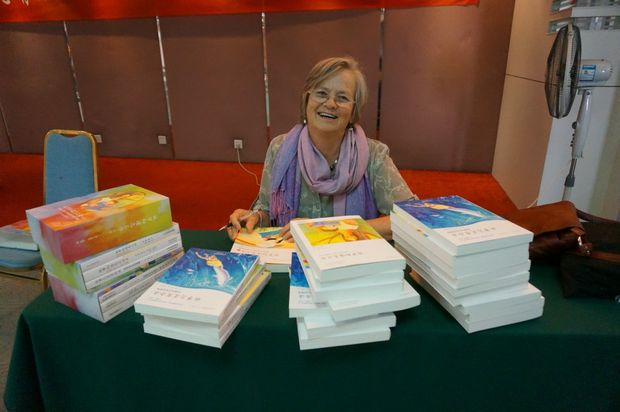 Children's author Susan Perrow uses the power of metaphor to write therapeutic books for children. She recently visited China for 5 weeks to launch her third volume of books in Mandarin. Photo: Contributed