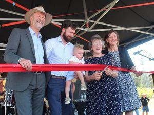 Slim dusty centre opens