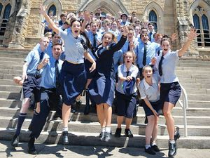 Last bell for hundreds of Gympie school leavers