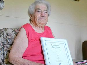 Joan reflects on sixty-five years of service with the CWA