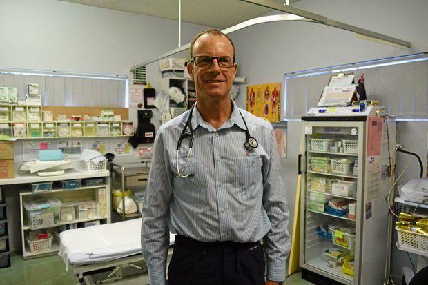 INNOVATOR: Renal Nurse Practitioner Graeme Turner at Bugalwena General Practice.
