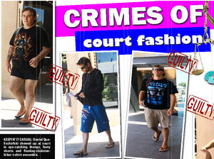 Crimes of court fashion, accused of 'disrespecting the law'