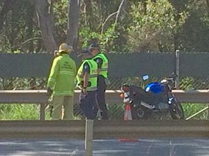 Cunningham Highway bike crash