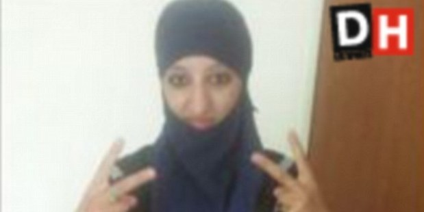 Hasna Ait Boulahcen is Europe's first female suicide bomber. Photo / Supplied