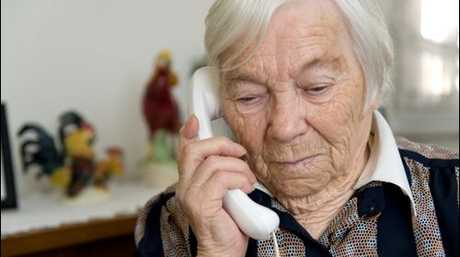 Elderly people are being targeted by scammers in Toowoomba (generic photo).