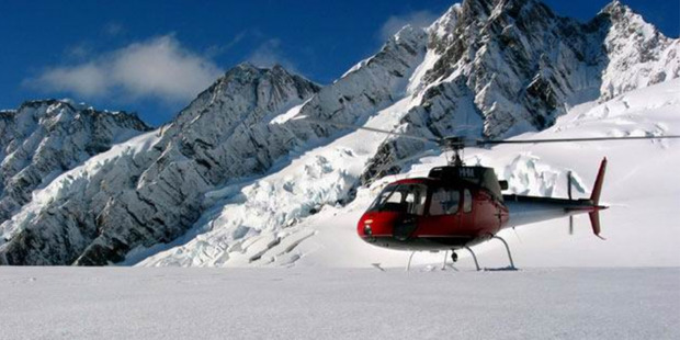 An Alpine Adventures Scenic Flights Eurocopter 6