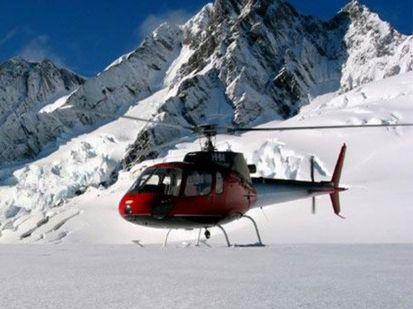 An Alpine Adventures Scenic Flights Eurocopter 6